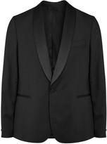 J.lindeberg Savile Black Wool Tuxedo Jacket