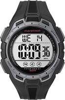 Timex Men's Digital Watch with LCD Dial Digital Display and Black Resin Strap TW5K94600