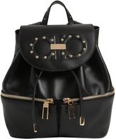 Salvatore Ferragamo Jam Groove Leather Backpack
