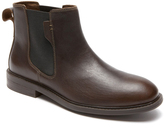 Dunham Chocolate Graham Leather Chelsea Boot - Men