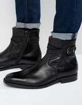 Aldo Hario Leather Jodhpur Boots