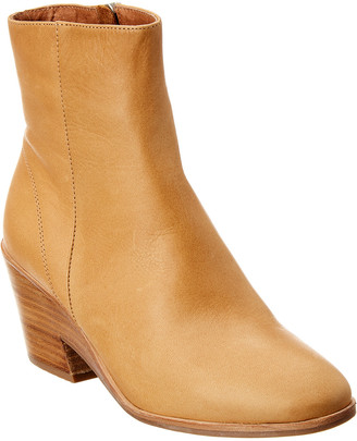 Gentle Souls By Kenneth Cole Blaise Leather Wedge Bootie