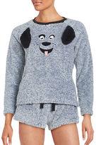 Roudelain Faux Fur Animal Pajama Set
