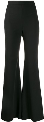Loulou Stretch Fit Flared Trousers