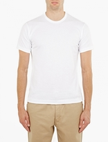 Comme Des Garcons Shirt White Cotton T-shirt