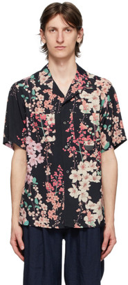 Poggys Box Black Flower Shirt