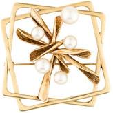 Mikimoto Pearl Brooch
