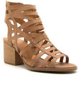 Qupid Women's Sandals CAMEL - Camel Core Gladiator Sandal - Women