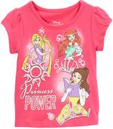 Children's Apparel Network Princess 'Princess Power' Cap-Sleeve Tee - Toddler