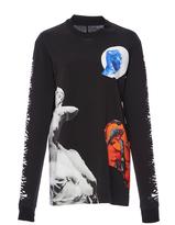 Proenza Schouler Long Sleeve Printed T-Shirt