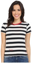 Converse Striped Shrunken Tee