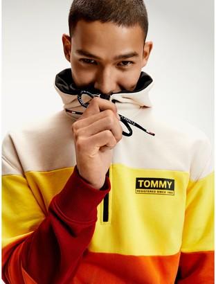 Tommy Hilfiger Organic Cotton Half Zip Hoodie