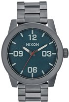 Nixon Corporal Watch Gunmetal/dark Blue