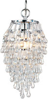 Element Crystal Teardrop Mini Chandelier