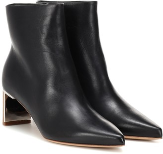 Gabriela Hearst Raya leather ankle boots