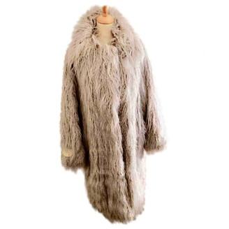 Stella McCartney Grey Faux fur Coats
