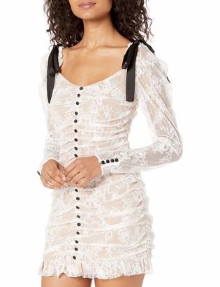 For Love & Lemons Women's Beverly Pleated Mini Dress