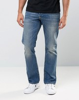 Replay Jeans Waitom Straight Fit Mid Wash