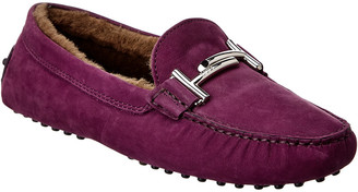 Tod's TodS Double T Suede Loafer