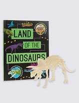 Marks and Spencer Factivity Dinosaurs Book