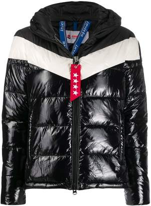 Invicta color-block padded jacket