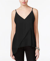 Bar III Asymmetrical V-Back Top, Only at Macy's