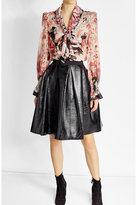 Roberto Cavalli Printed Silk Chiffon Blouse