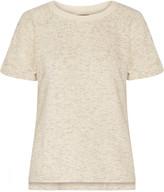 Monrow Marled cotton-blend T-shirt