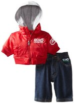Ecko Unlimited Baby-Boys Newborn Jacket and Jean