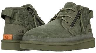 UGG Neumel Zip Quilting (Moss Green) Men's Shoes
