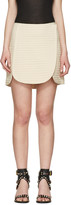 Isabel Marant Ecru Prunella Miniskirt
