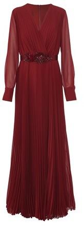 Max Mara Georgette long dress