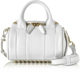 Alexander Wang Mini Rockie Peroxide Soft Pebbled Leather Satchel Bag