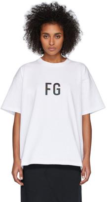 Fear Of God White FG T-Shirt