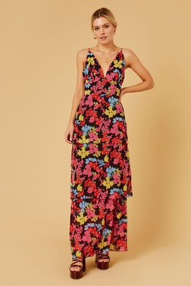 Finders Keepers MATILDA MAXI DRESS Black Floral