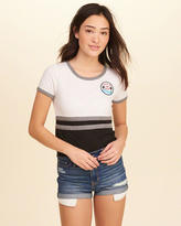 Hollister Graphic Baby Tee