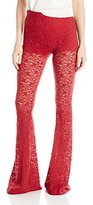 Show Me Your Mumu Women's Tapestry Lace Bam Bell Pant