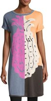 Nic+Zoe Divisional Short-Sleeve Tunic, Plus Size