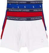 Polo Ralph Lauren Classic Cotton Knit Boxer Brief 3-Pack, L