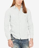Denim & Supply Ralph Lauren Men's Striped Twill Workshirt