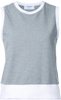 Thom Browne classic shell top - women - Cotton - 42