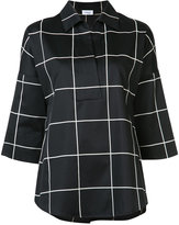 Akris Punto checked shirt - women - Cotton - 10