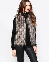 French Connection Danny Faux Fur Vest