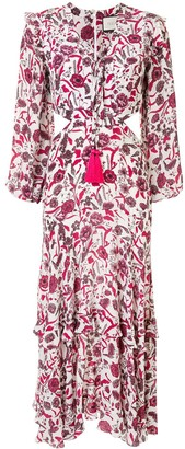 Alexis Nakkita floral print dress
