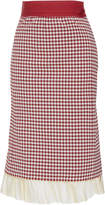 Brock Collection Selin Gingham Skirt