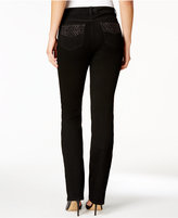 Charter Club Prescott Embellished Bootcut Jeans, Only at Macy's
