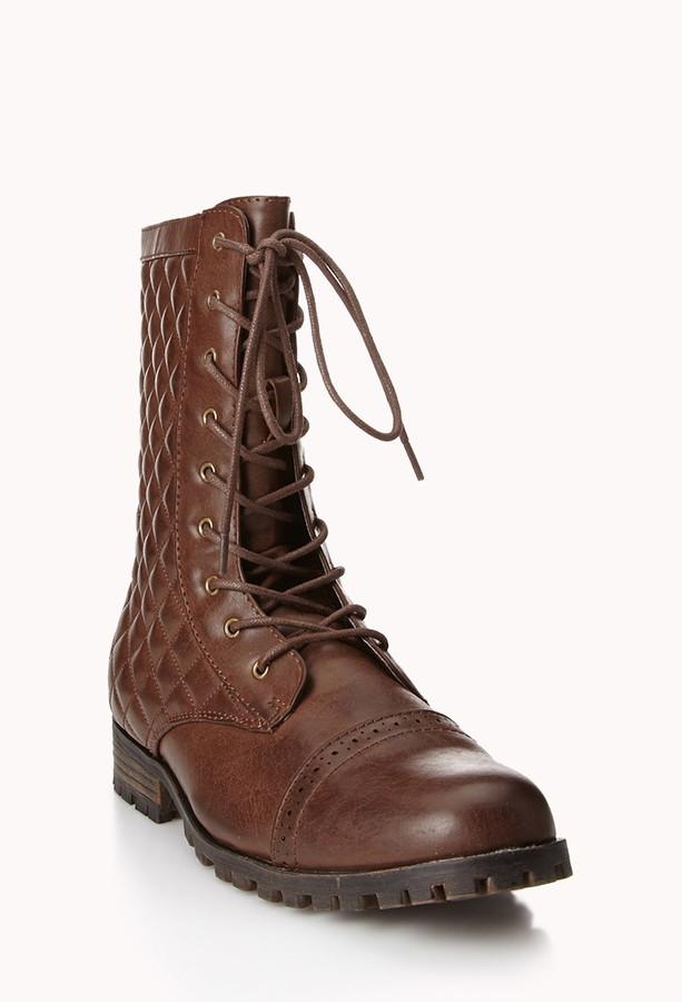 Forever 21 Secret Rebel Combat Boots