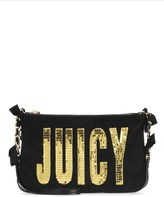 Juicy Couture Juicy Flag Atwater Velour Crossbody