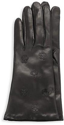 Portolano Floral Leather Gloves