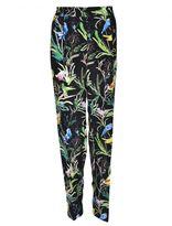 N°21 Botanical Print Trousers